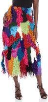 Maurizio Pecoraro Multicolor Textured Skirt