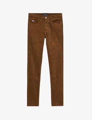 The Kooples Velvet stretch-cotton corduroy jeans