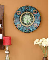 Novica Hand Painted Cuzco Decorative Plate