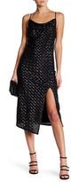 ABS by Allen Schwartz Sequin Slip Midi Dress