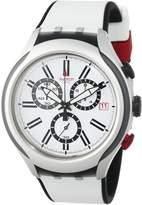 Swatch Men's Irony YYS4005 Silicone Swiss Quartz Watch