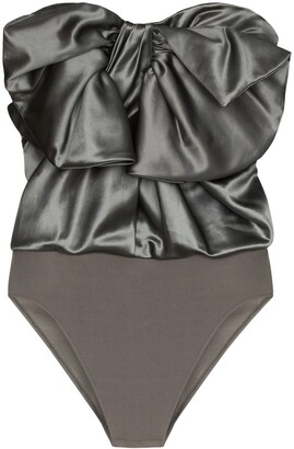 Alexandre Vauthier Bodysuit Bow Top