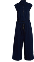 Rachel Comey Paz zip-through wide-leg cotton jumpsuit