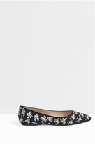 Giambattista Valli Embroidered Flat Shoes