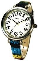 Tokyobay Tokyo Bay T016-BK Women's Sedona Analog Stainless Watch