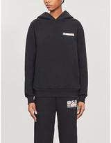 Sporty & Rich Logo-print cotton-jersey hoody