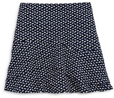 Aqua Girls' Print Knit Skirt , Sizes S-XL - 100% Exclusive