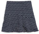 Aqua Girls' Print Knit Skirt - Sizes S-XL