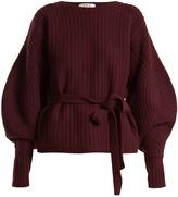Sea Balloon-sleeved ribbed-wool sweater