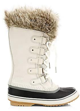 Sorel Women's Joan Of Arctic Faux Fur Suede Boots