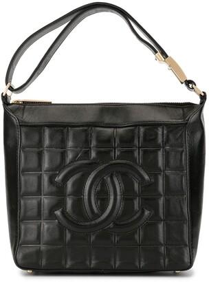 Chanel Pre Owned Choco Bar CC shoulder bag