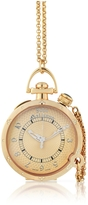 John Galliano L'Elu 3H - Women's Diamond Rose Gold Plated Watch w/ Chain