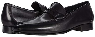 Canali Penny Loafer (Black 2) Men's Shoes