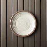"Crate & Barrel Caprice Stone 8.5"" Melamine Plate"