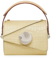 Danse Lente Extra-Small Jorja Croc-Embossed Leather Barrel Bag