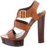 Rachel Zoe Leather Multistrap Sandals