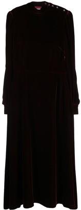Goat Kaylo long-sleeve midi dress
