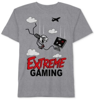 JEM Video Game-Print T-Shirt, Big Boys