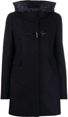 Fay Hooded Duffle Coat