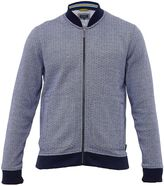 Ted Baker Gonow Pin Dot Cotton Bomber Jacket