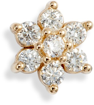 Chicco Zoe Diamond Floral Stud Earring