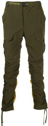 White Mountaineering Shirred Cargo Pants