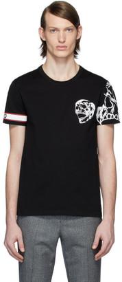 Alexander McQueen Black Biker T-Shirt