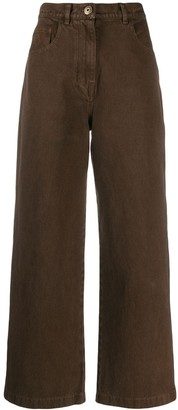 Nanushka Vintage Cropped Jeans