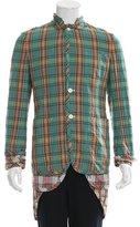 Comme des Garcons Layered Plaid Jacket