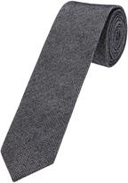 Oxford Tie Cotton Textured Blk/Wht X