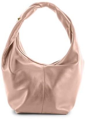 Valentino Roman Stud Leather Hobo Bag