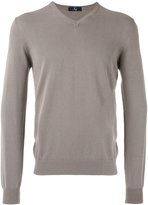 Fay V-neck sweater - men - Cotton - 50