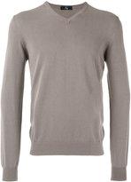 Fay V-neck sweater - men - Cotton - 56