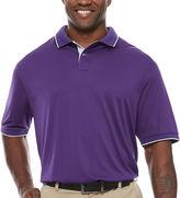 Claiborne Short Sleeve Polo Shirt- Big and Tall