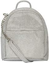 Dorothy Perkins Silver Mini Cross Body Bag