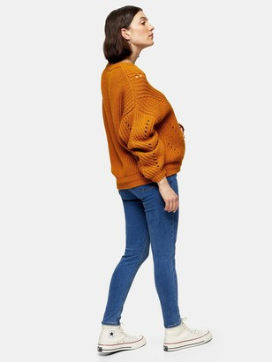 Topshop MaternityJoni Jeans- Blue