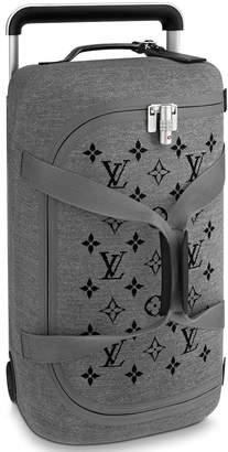 Louis Vuitton Horizon Duffle Soft Jacquard 55 Gray