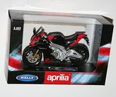 Welly - APRILIA RSV4 FACTORY - Die Cast Motorbike Model Scale 1:18 by Welly