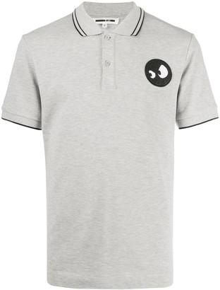 McQ Swallow Monster cotton polo shirt
