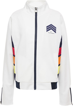 Perfect Moment Printed Stretch-jersey Track Jacket