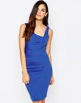 Jessica Wright Verity Asymmetric Pencil Dress
