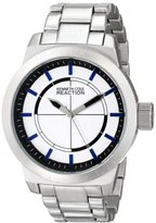 Kenneth Cole Reaction Unisex RK3252 Street Fashion Analog Display Japanese Quartz Silver Watch