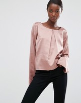 Minimum Moves Hiva Flared Sleeve Blouse
