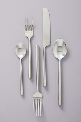 Anthropologie Streamlined Flatware By Gather by in Silver Size SET OF 5