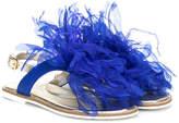 MonnaLisa textured sandals