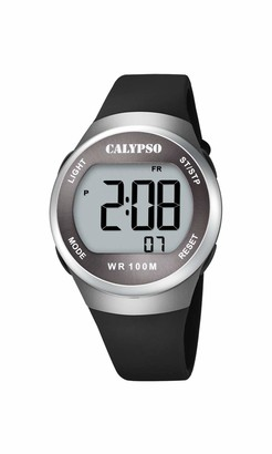 Calypso Unisex's Digital Quartz Watch with Plastic Strap K5786/4