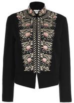 Vilshenko Freya Pompadour Embroidered Jacket