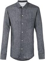 Officine Generale plain shirt - men - Linen/Flax - M
