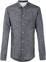Officine Generale plain shirt - men - Linen/Flax - XL