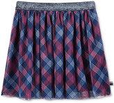 Tommy Hilfiger Plaid Tulle Skirt, Big Girls (7-16)